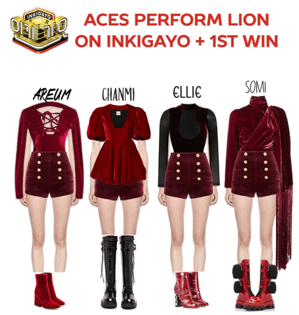 [LION] INkigayo stage