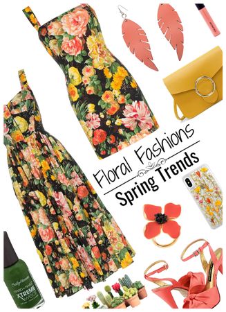 Spring Trends/Floral Fashions