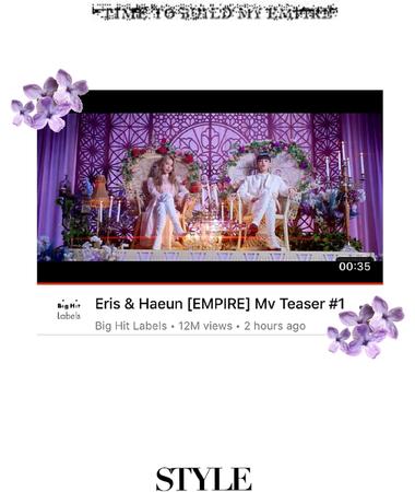 Eris & Haeun EMPIRE Teaser 1