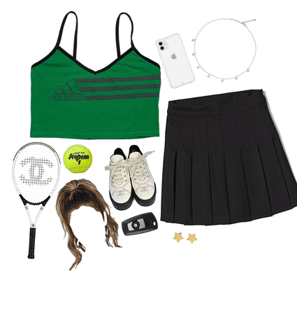 #THIS WOULD BE MY TENNIS OUTFIT IF I PLAYED IT😂 🎾