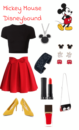 Mickey Disneybound