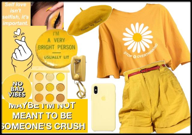 artsy yellow