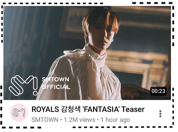 ROYALS [감청색] 'FANTASIA' M/V Teaser