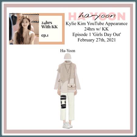 /HA-YOON/ Kylie Kim's YouTube Channel Appearance