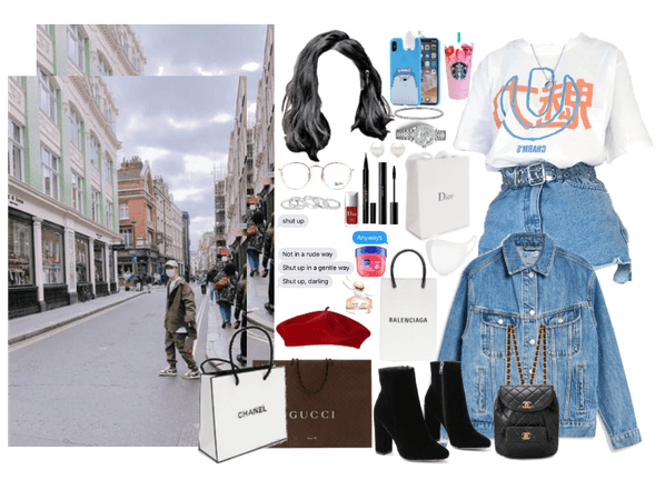 the 8th member: shopping day