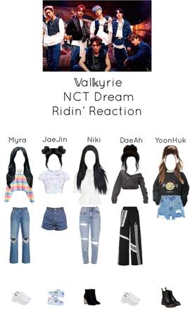 ~𝕍al𝕜yrie~ NCT Dream Ridin' Reaction