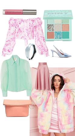 pop of pastel color