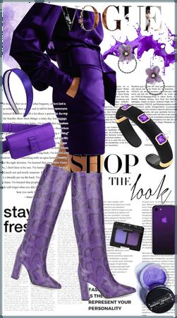 Power in purple