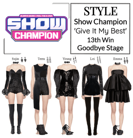 STYLE Show Champion 'Give It My Best' Goodbye