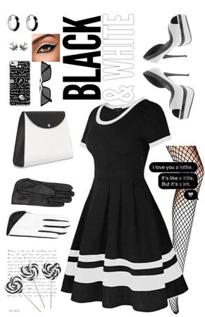 Black and White Glam