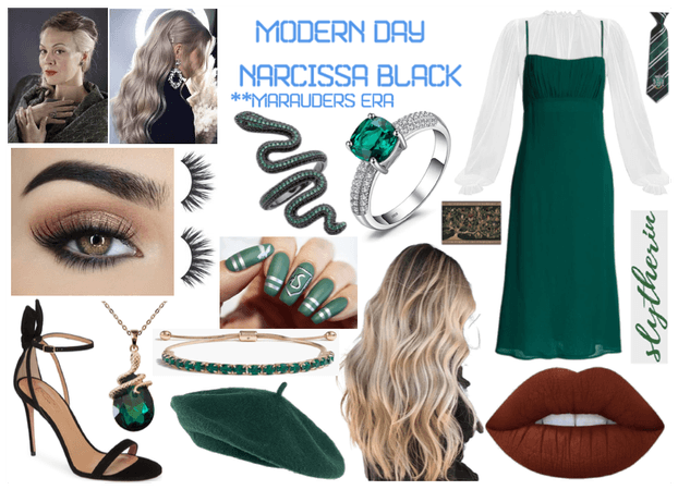 Modern Day Characters 80: Narcissa Black (ME)