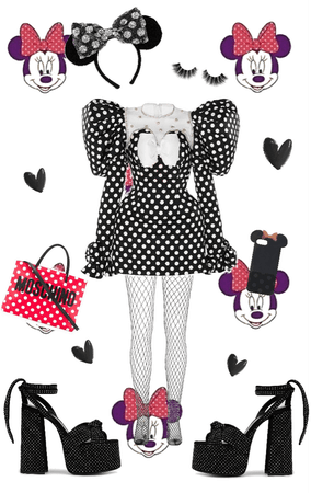 Minnie Mouse Haute Couture