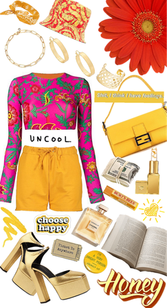 Vibrant Color Outfit