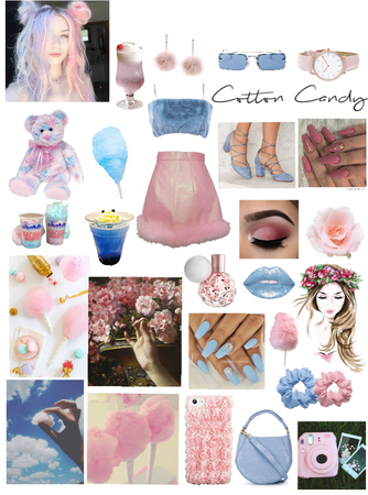 Cotton candy dream💙🍭💖