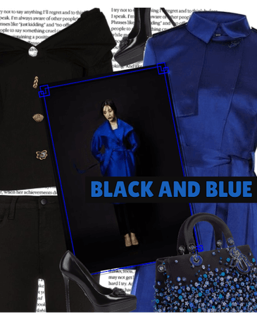 BLACK AND.. BLUE
