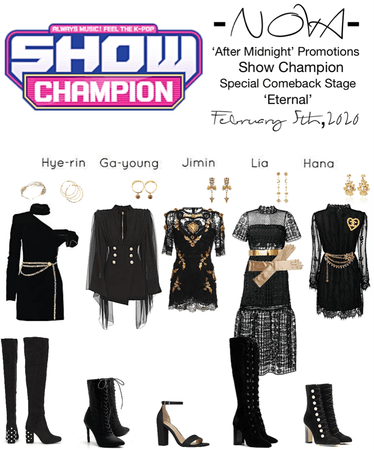 -NOVA- 'After Midnight' Show Champion Stage