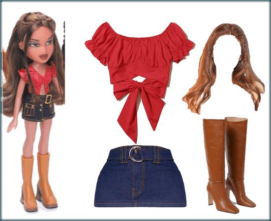 Dana Bratz Character Outfit