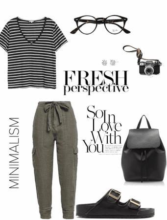 Minimalist Look 1