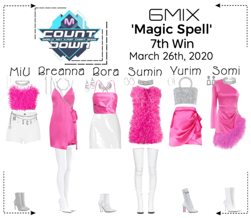 《6mix》Mcountdown Live 'Magic Spell'