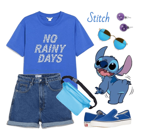 Stitch outfit - Disneybounding - Disney