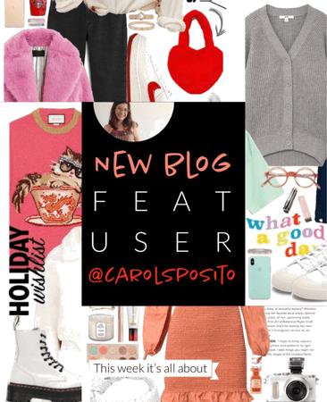 NEW Featured User @carolsposito