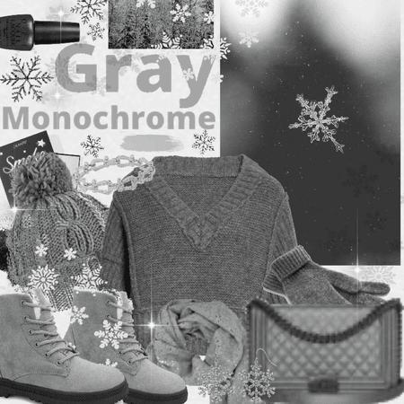 Grey Monochrome