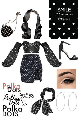polka dots .