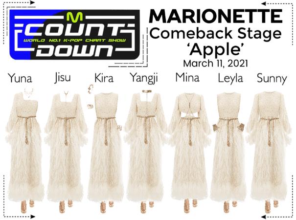 마리오네트 (MARIONETTE) - [MCOUNTDOWN] Comeback Stage