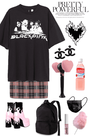 blackpink inspired outfit