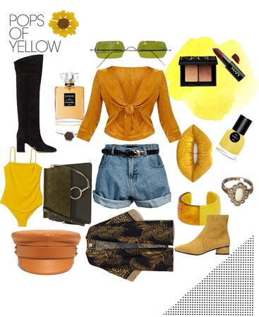 Pop's of Yellow
