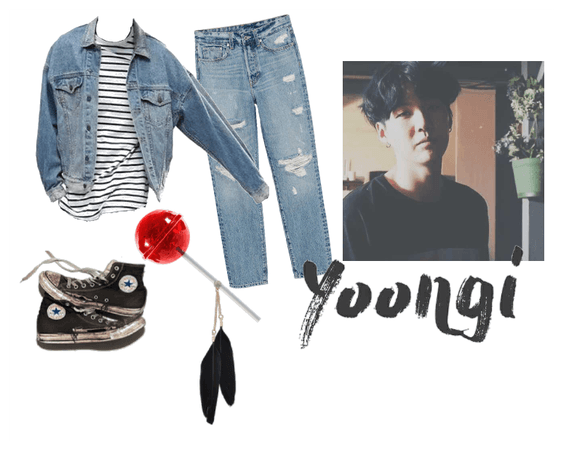 70's Greaser Boy Min Yoongi