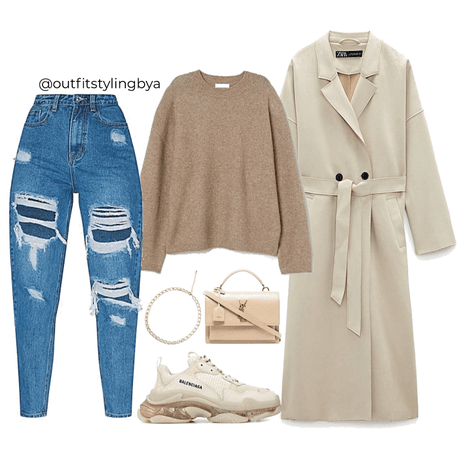 chilled day outfit 🤎
