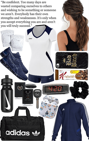 Volleyball Player Outfit