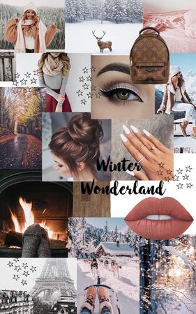 preppy winter aesthetic.