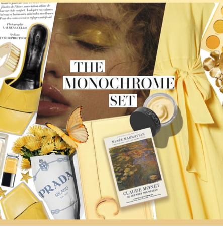 Monochrome #Yellow