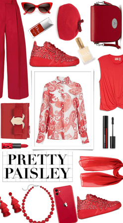 """""""Red paisley"""""""