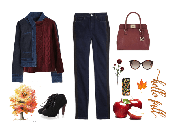 Fall is for apple picking