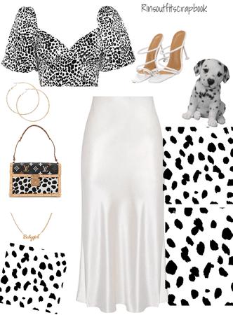 Dalmatians fit🤍🖤🤍🖤🤍