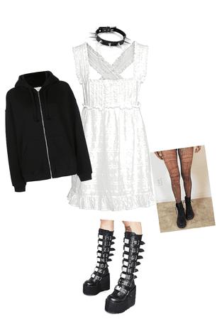 alt dress outfit 🖤