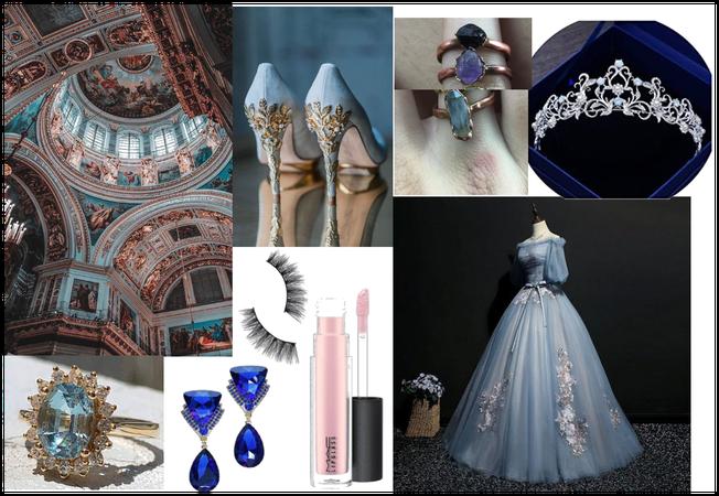 Light blue royal core