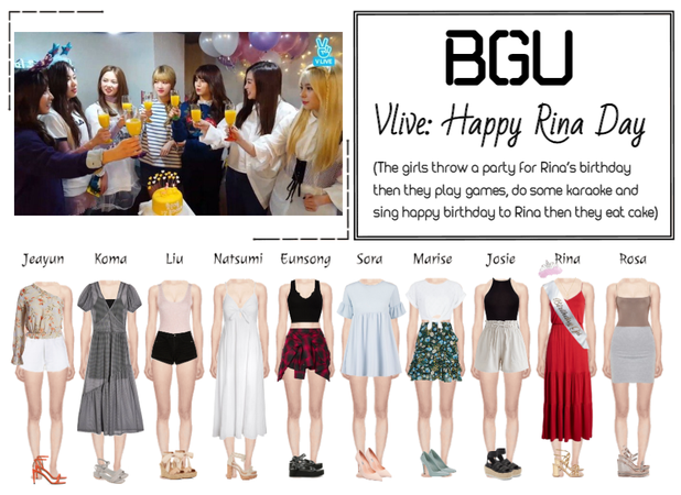 BGU Vlive: Happy Rina Day