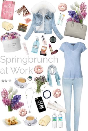 Springbrunch at work 2019