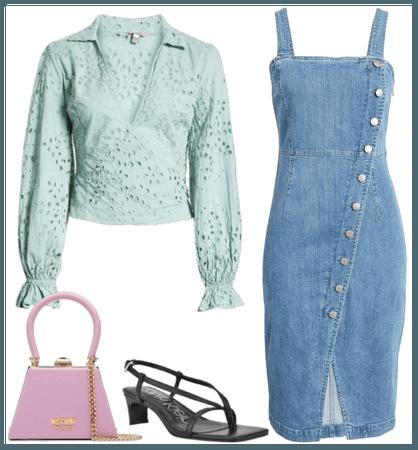 Jeans + cute top