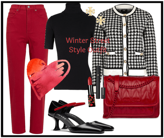 Winter Street Style Outfit Challenge