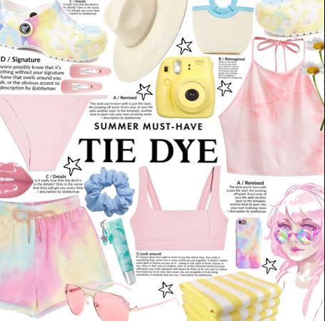Summer Must have: tie dye
