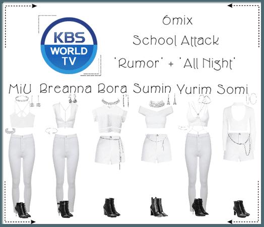 《6mix》School Attack