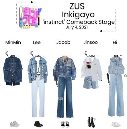ZUS//'instinct' Inkigayo Comeback Stage