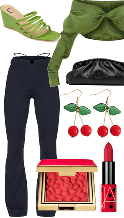 trendy in green