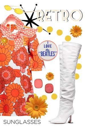 Orange Flowers for Woodstock