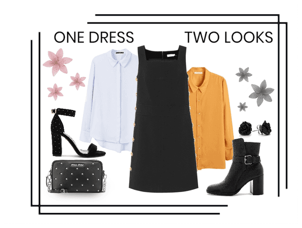 One Dress, Two looks